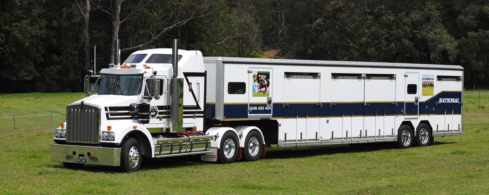 Kenworth Horse Truck